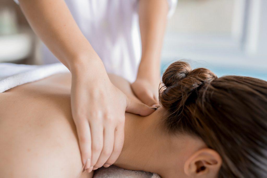 Woman getting massage - Beyoutiful Escape in Panama City