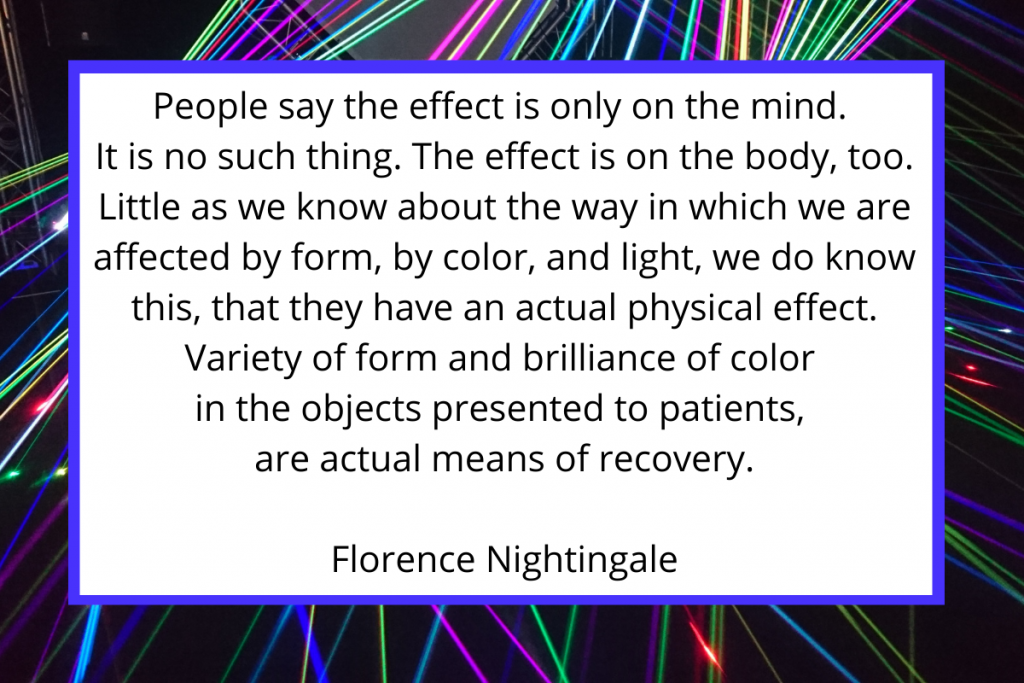 Effect of Life quote by Florence Nightingale